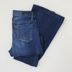 Citizens of Humanity Flared Blue Jeans